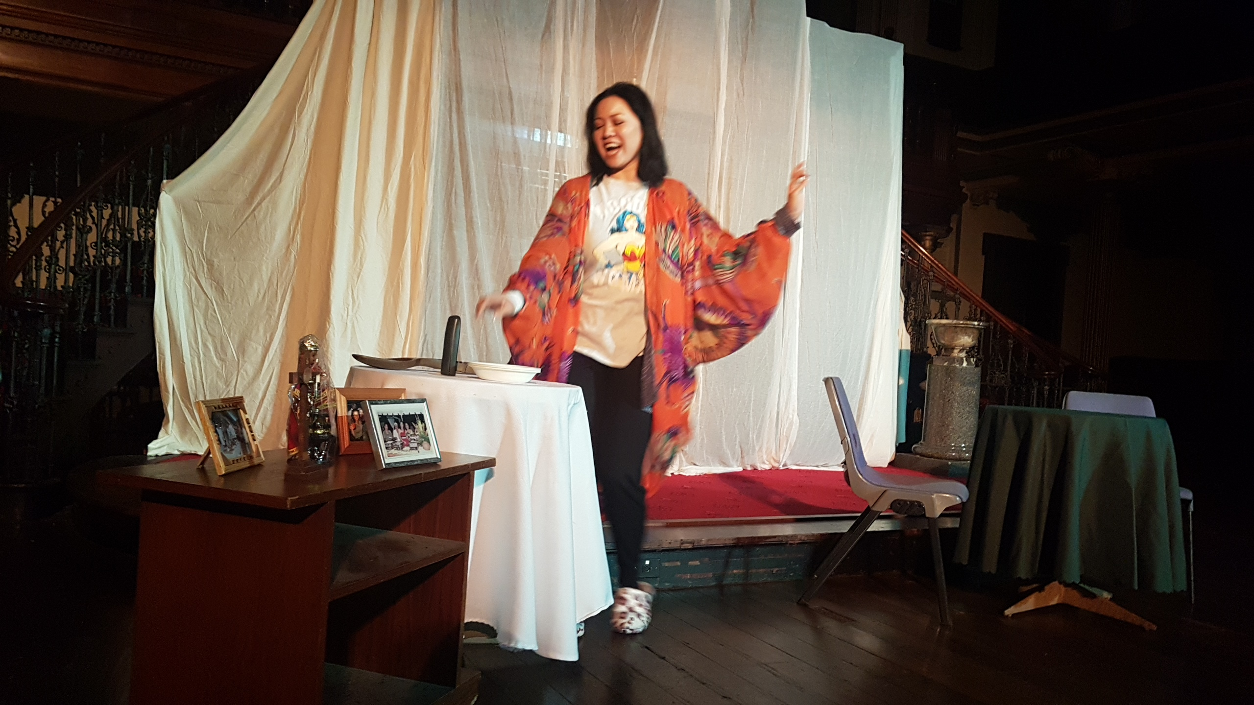 Emerging playwright Elaine Laforteza invites the audience into a typical Filipino-Australian household to discover a heartwarming story rarely told.